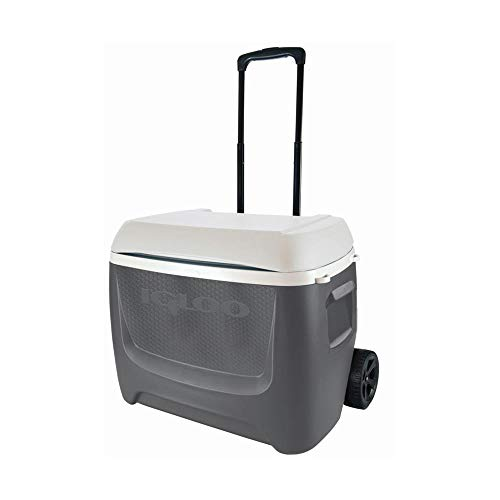 Igloo Nevera Portatil con Ruedas Island Breeze 60 Roller - Gris