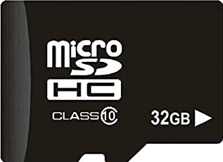 Alexly 32GB Micro SDHC Memory Card 100MB/s UHS-I U1 Class 10 with High Speed Adapter for Smartphones Tablets Drones Action Cams