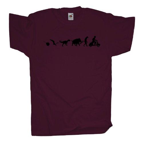 Ma2ca - 500 Mio Vesper T-Shirt Burgundy