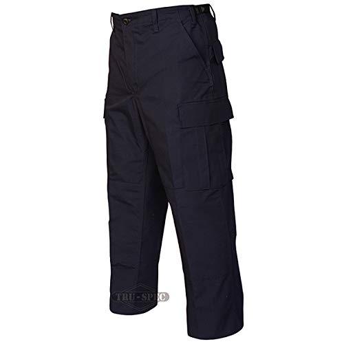 Tru-Spec Herren Pts, TRU Navy P/c R/s Police BDU, Zip Fly, Ls Hosen, Large/Small - Blue Bdu Hose