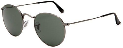 ray-ban-men-mod-3447-sunglasses-matte-gunmetal-matte-gunmetal-size-47