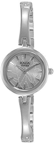 Titan Raga Analog Multi-Colour Dial Women's Watch -2553SM02
