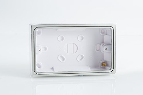 polished-chrome-decorative-twin-socket-back-pattress-box-surface