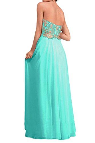 Sunvary a-line Sweetheart lungo garza Party ballo abito da ballo abito da donna Verde