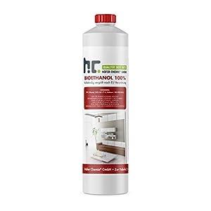 Unser Bioethanol 100% hochrein entsteht durch die vollständige Entwässerung des TÜV Süd* zertifizierten Bioethanols 96,6 % Premium. Dadurch entsteht mehr Wärme bei der Verbrennung wodurch das Flammenbild, aufgrund der größeren Hitze, leicht bläulich ...
