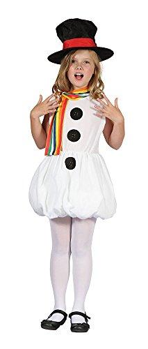 Kostüm Zubehör Schneemann - Bristol Novelty CC602 Schneemädchen Kostüm, Bunt