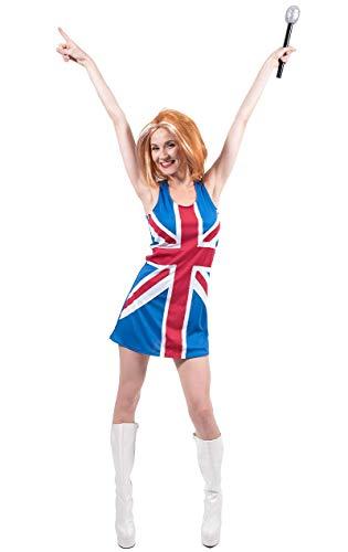 Geri Kostüm Spice - Britische Flagge Union Jack Kleid