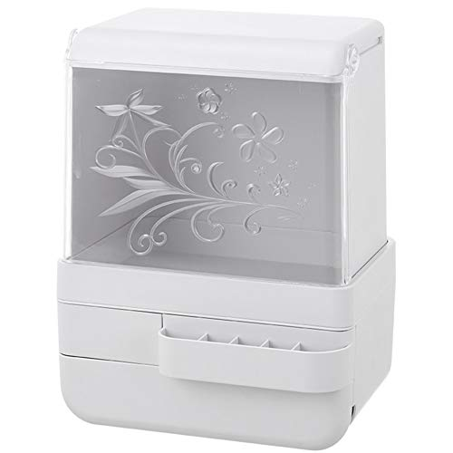 Kosmetische Aufbewahrungsbox Transparent Staub Schmuck Hautpflegeprodukte Make-up Organizer Für Kommode Schlafzimmer Oder Bad Halter -