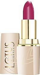 Lotus Makeup Pure Color Moisturising Lip Color, Magenta Fire, 649, 4.2g