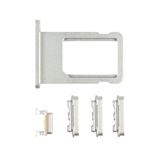acquistare Universale iPhone originale set completo di tasti laterali di ricambio per iPhone 5S/6/6Plus/6S/6S (Mute Set)