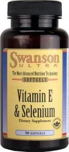 Swanson Ultra Vitamin E & Selenium (90 Softgels) by Swanson Health Products