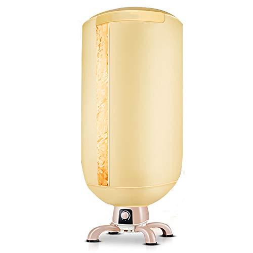 Wgwioo Elektrischer Wäschetrockner, Tragbare Schnelle Luft Trocknen Heiße Garderoben Maschinen Trockengestell Für Haus U,Gold