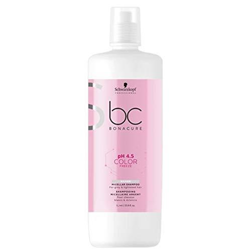 Schwarzkopf Professional BONACURE ph 4.5 Color Freeze Silver Shampoo, 1 l