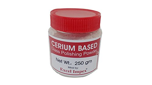 Excel Impex Cerium Oxide Glass Polishing Powder, Net Weight 250 Gram