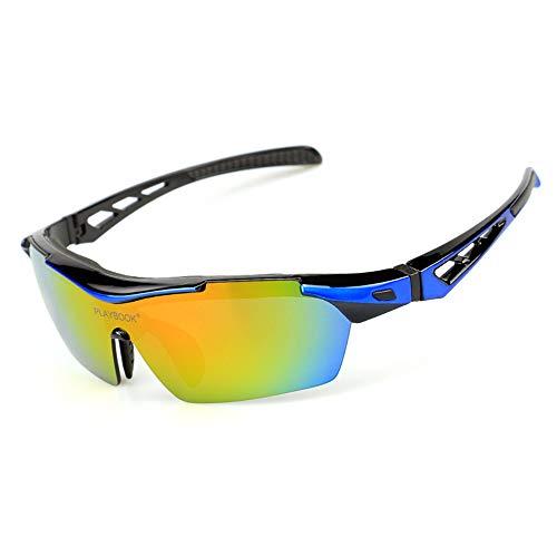 Tragbare Fahrradsonnenbrille Im Freien polarisierte Sonnenbrillen Radfahren Sportbrillen schützen sich vor wehendem Sand Fischerei Anzüge Radfahren Outdoor Sportbrillen Sonnenbrillen Für den Outdoor-R