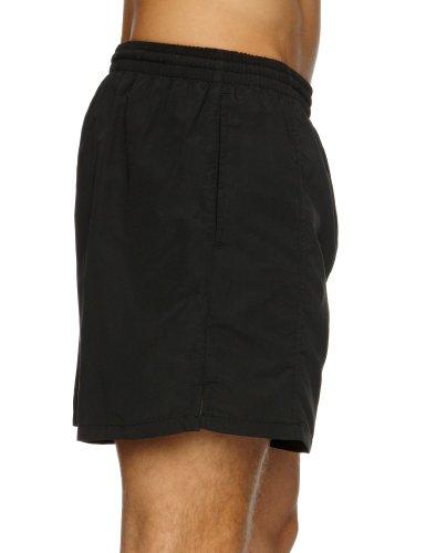 Maru Swimwear Solid Short Men's 40.64 cm schwarz - schwarz
