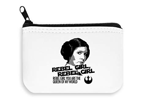 Rebel Queen of My World Star Wars Zipper Wallet Coin