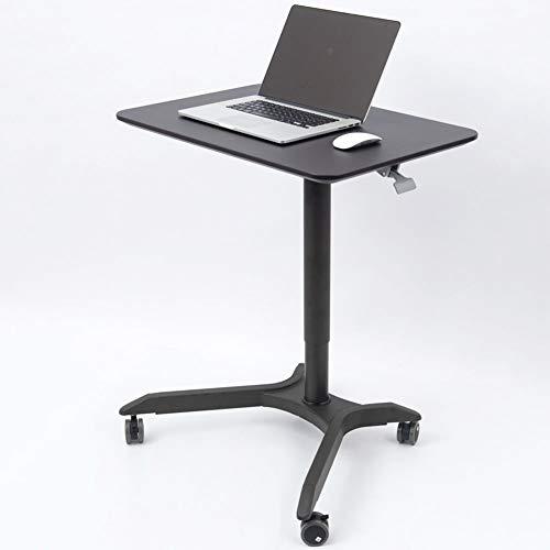 XUE Aufzug Computer Schreibtisch Stehplatz Schreibtisch Mobiler Konferenztisch Podium Nachttisch Pflege Tisch Luftdruck Lift Mobiler Tischstopper...