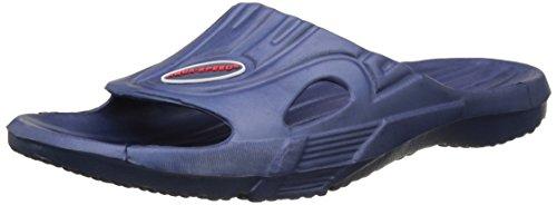AQUA-SPEED® ARIZONA Badelatschen für Herren u. Damen (Größen: 35-46 Badeschlappen Schwimmbad Pool Urlaub Meer + UP®-Schlüsselband) Farbe 10 / Blau