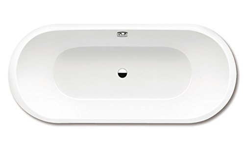 Kaldewei Stahl Badewanne Ambiente CLASSIC DUO OVAL 111 1800x800mm alpinweiss