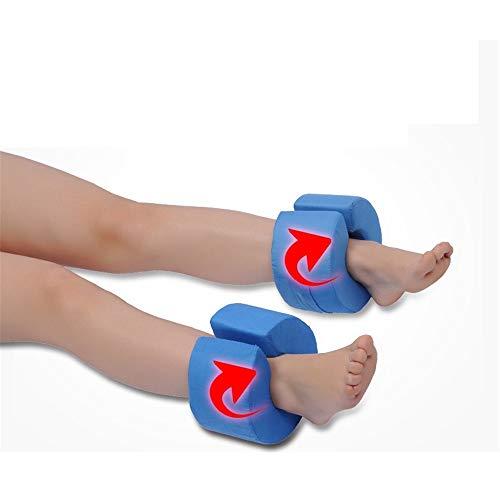 Fußaufzug,schaumbeinstützkissen kissenchirurgie hebekissen am besten für fuß- und knöchelverletzung und erholung (1 Paar),Blue -