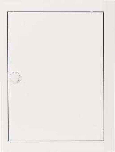 abb-entrelec BL520-Tür mit Rahmen blickdicht weiß Aluminium