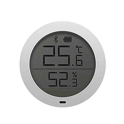 GU YONG TAO Elektronisches Bluetooth-Thermometer, Innenhygrometer, LCD-Bildschirm - Geringer Stromverbrauch - Genaue Ablesung , Für Luftbefeuchter, Gewächshaus, Garten, Keller, Kühlschrank, Schrank