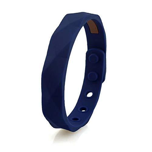 Armband mit Ionen Negativ, wasserdicht, für Damen und Herren, aus Silikon, wasserdicht, Geschenk von Basketball Sport Wristband 13 x 230 mm Modern C