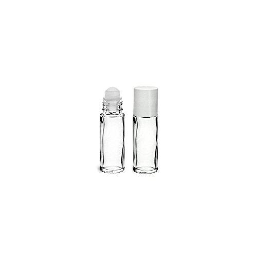 ROLL-ON 30ML en verre blanc transparent