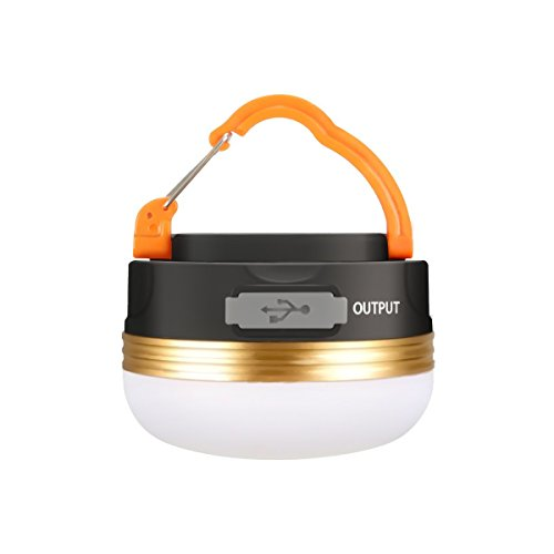 319IqK1AMML. SS500  - Camping Light, GLISTENY Waterproof tent Light outdoor LED Lantern with 1800mAh Power Bank, 5V USB Rechargeable Built-in Battery, Magnetic Portable with 3 Modes for Camping, Hiking, mountaineering