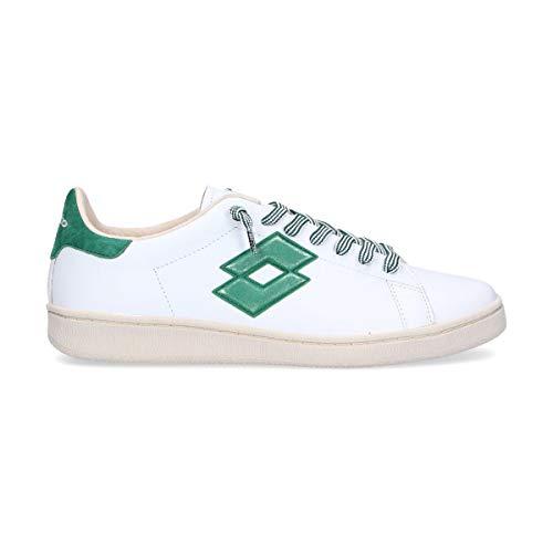 Lotto Leggenda Sneakers Uomo L4555white Pelle Bianco