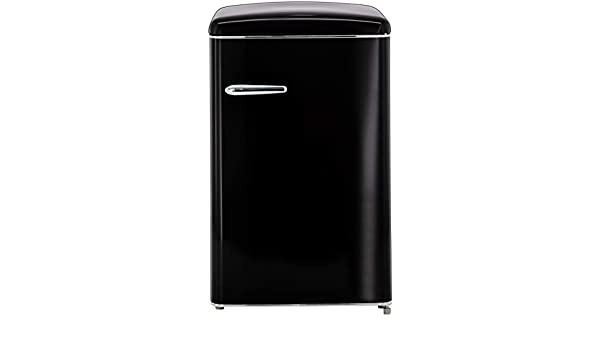 Retro Kühlschrank Bohmann : Exquisit rks rva ms retro kühlschrank eek a liter