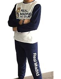 Pijama Real Madrid niño Invierno Terciopelo Tallas 6 a 16 ...