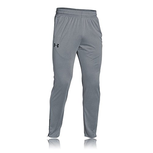 Under Armour Herren Fitness Tech Pants, Steel, L - Athletic Track-t-shirt