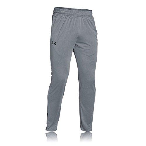 Under Armour Herren Fitness Tech Pants, Steel, L