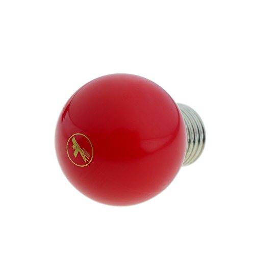 Preisvergleich Produktbild Cablematic - LED Birne G45 0.5W 230VAC E27 Rotlicht