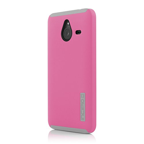 Incipio DualPro Case für Microsoft Lumia 640 XL - smarte, robuste Protection-Schutzhülle - pink/grau (ML-190-PNK)