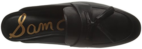 Sam Edelman Womens Paris Slip-On Loafer Black Leather