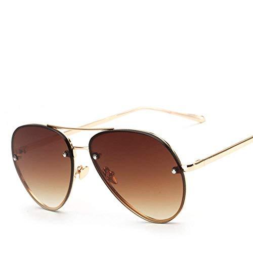 YSA Sonnenbrille Sonnenbrille Damen 'S Women' S Rose Gold Berühmte Spiegel Sonnenbrille Damen Brille