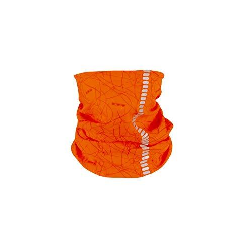 Wowow nutty - scaldacollo per ragazzi, unisex, arancione, taglia unica