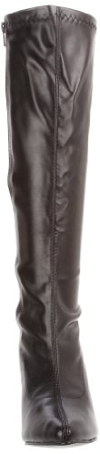 Pleaser SEDUCE-2000 Damen Stiefel Blk Str Faux Leather