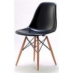 Charles Eames DSW Chair Black - Armario de Dormitorio