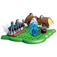 Mega Bloks The Smurfs - Handy Smurf Figure and Accessories
