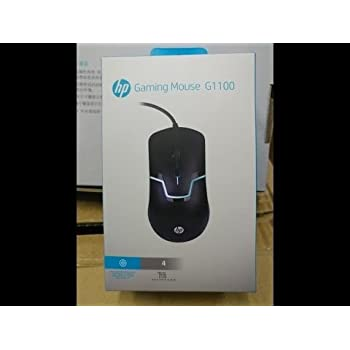 192cc98301f Amazon.in: Buy HP M100 Wired Gaming Optical Mouse (Black) Online at ...