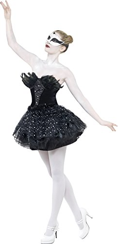 hic-Schwan Schwarz mit Kleid, Small (Cat Fancy Dress Kostüme Halloween)