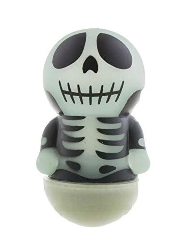 (Knut Odegaard - Halloween Dekoration, Deko Skelett, leuchtet im Dunkeln, Skeleton GID Glow in The Dark, ideal für Jede Halloween Party / Feier, Schwarz)