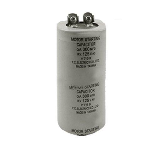 300MFD 300uF 125V AC 5% Metallpapier Motorkondensator