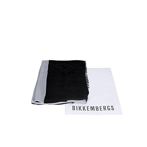 Bikkembergs SCR 11719 Pashmina Borse & Accessori Modal Nero/grigio Nero/grigio TU