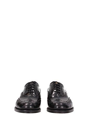 Chaussures à lacets Churchs Homme - Cuir (BURWOOD) EU Noir