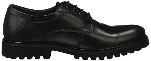 camel active Herren Harvard 22 Derby Schwarz (Black 01)